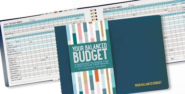 "Promising review: ""I have tried many different budget books and apps. This was exactly what I was looking for! The biggest benefit was that I could add my own categories for expenses. When budgeting, I don't like to break things down into 20 different categories, I keep them very basic. I appreciate the fact that this allows me to do so. I also like that it is also broken down by days. I'm so relieved to have finally found exactly what I have been looking for."" —CharlotteGet it from Amazon for $7.99."