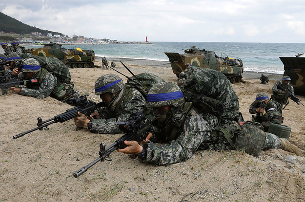 The US Warns It Might Resume Drills With South Korea After Talks With The North Stall