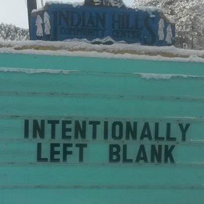 The sign is changed regularly by Vince Rozmiarek, a local man and lover of all things ~pun-related~.