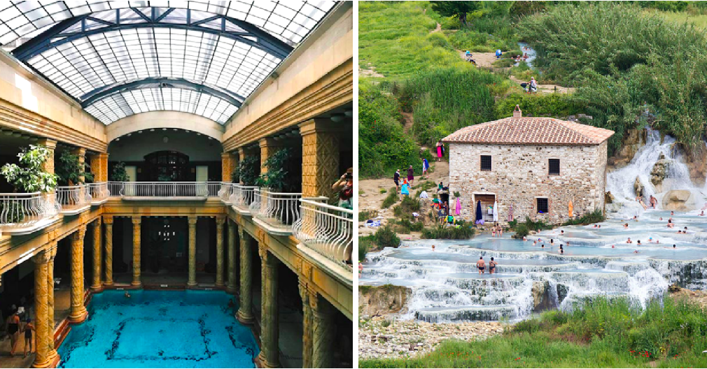 9 Baths, Spas, And Hot Springs You Can Actually Vi...