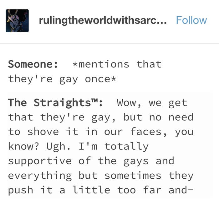 21 Times Tumblr Understood What It's Like Being Queer Around