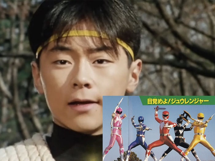 This is why, in the American series, the Pink Ranger is often seen wearing a skirt, while the Yellow Ranger isn't.