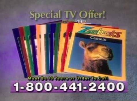 zoo books commercial