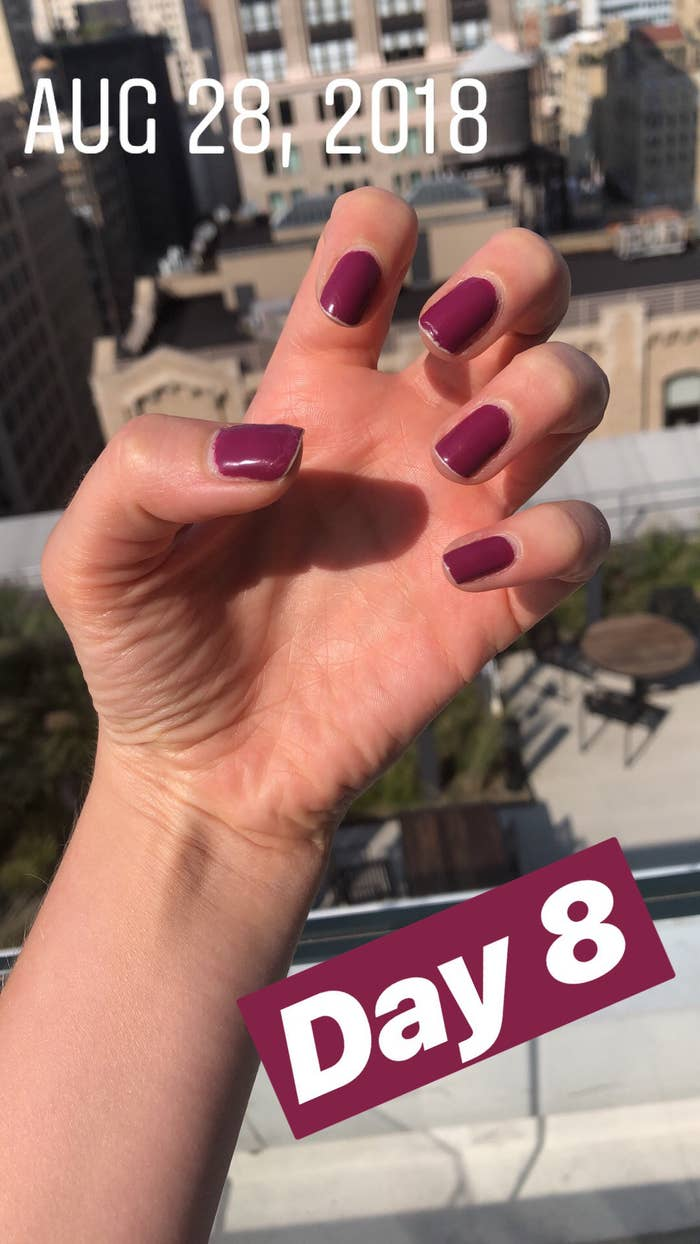 This Nail Polish Lasts As Long As Or Longer Than A Regular Manicure