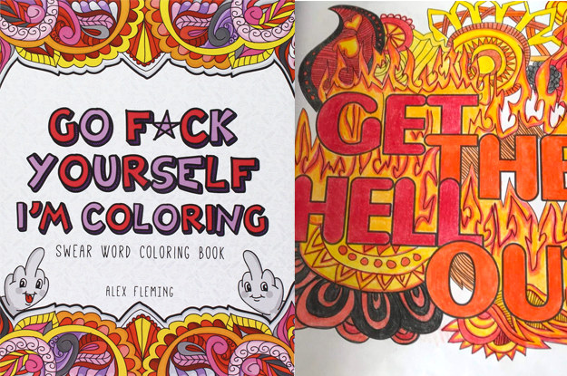 Swear Word Coloring Book Where To Buy