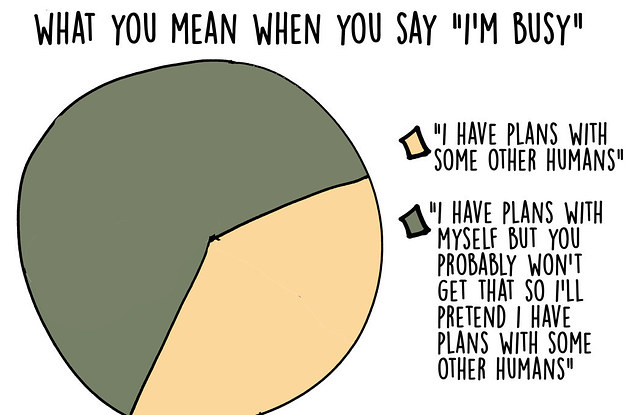 17 Graphs That Are Way Too Real For Introverts