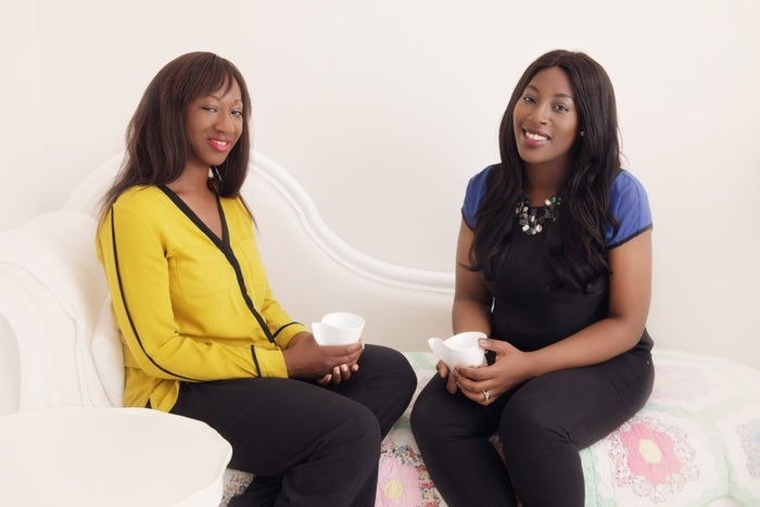 Grace (left) and Christina Adesina are the founders of Shades of Beauty LIVE.
