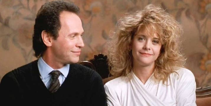 """""""It's about how complete opposites become friends after they keep bumping into each other at different stages of their lives and then end up realising that maybe they are meant to be something more. Billy Crystal and Meg Ryan have such a great chemistry and the movie is hilarious!""""—elizabethf46beebdee"""