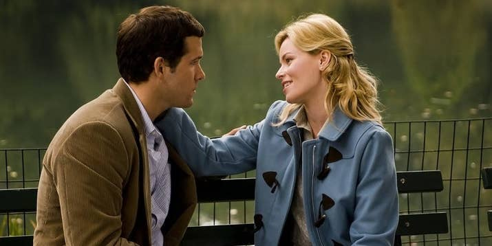"""""""Definitely, Maybe has such an amazing cast and a really great storyline. Ryan Reynolds, Elizabeth Banks, Abigail Breslin, Isla Fisher, Rachel Weisz star, and they're all so freaking good in it too.""""—kaygro272"""