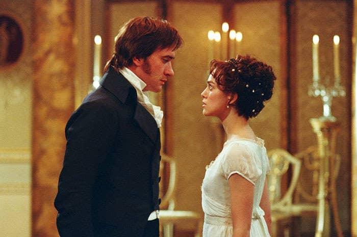 """""""Pride and Prejudice (the 2005 version) is literally my favourite movie of all time. It's brilliantly acted with stunning cinematography and a beautiful soundtrack. It's funny but also very heartfelt. Keira Knightley and Matthew Macfadyen are SUPERB and their chemistry will have you yelling 'just kiss already' whenever they look at each other. I don't care how many hardcore fans of the BBC miniseries yell at me for loving this adaptation more. Keira is my Elizabeth and Matthew is my Darcy. I would die for this movie.""""– Aniela Krajewska via Facebook"""