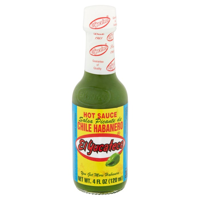 "Promising review: ""I have tasted hundreds of hot sauces over a decade and when I found this brand, I was hooked. It is the right blend of extreme-hot and tangy, everything tastes good with it — soups, mashed potatoes, pork chops, tacos, etc."" —tutatkamanGet it from Walmart for $1.84."