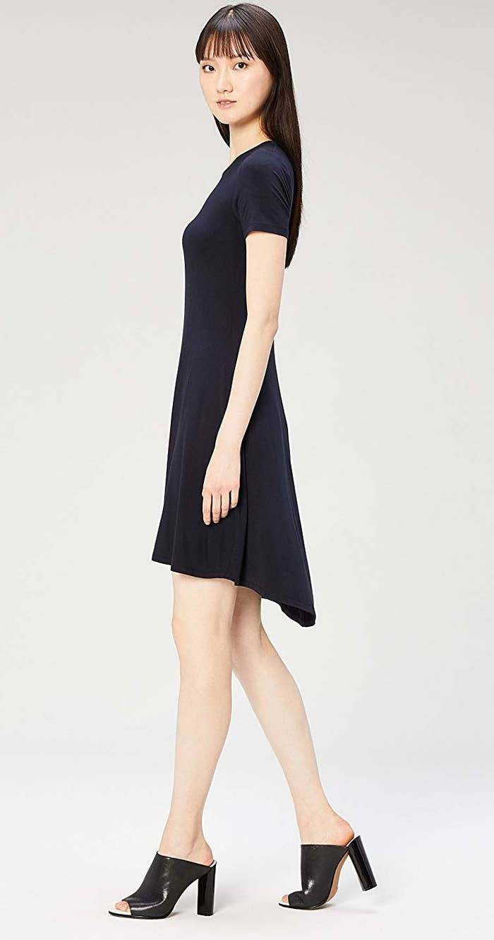 """1f776be62bdf8 Promising review: """"This is a very easy-to-wear knit dress"""