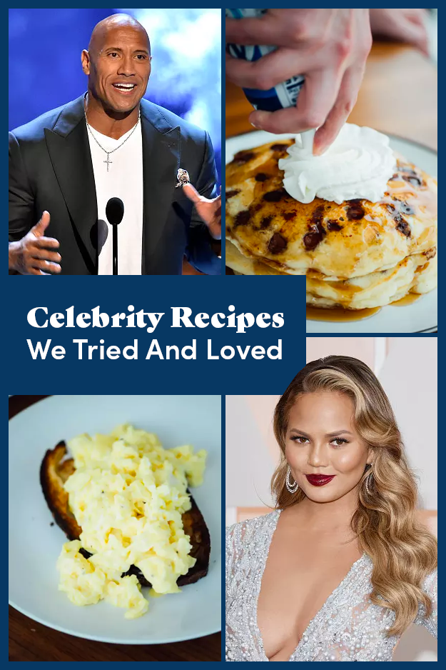 10 Celebrity Recipes We Don't Regret Trying