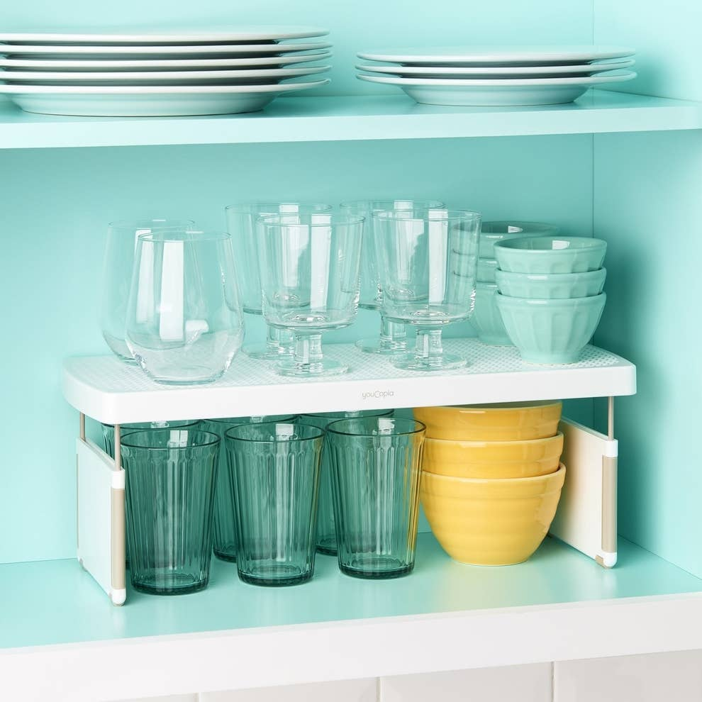 25 Things That\'ll Organize All Of Your Kitchen Cabinets And Drawers