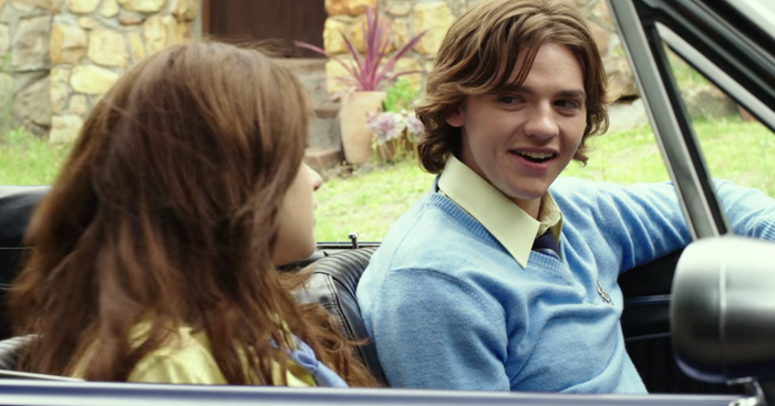 Joey King told Seventeen that if you look closely you can spot a tiny bandage on Joel's chin in certain scenes.