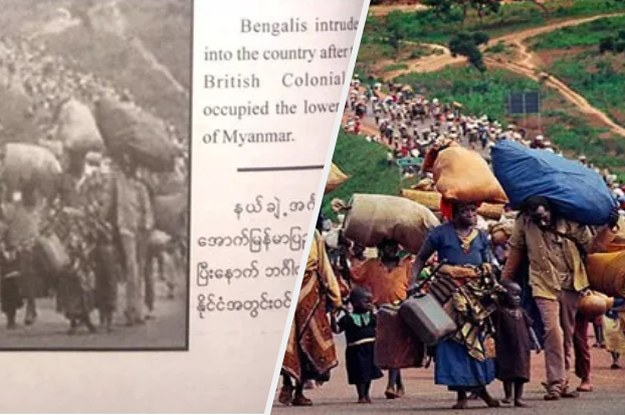"""Myanmar Published """"Fake Photos"""" Of The Rohingya In A New Book"""