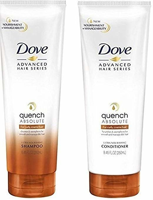 "Promising review: ""Dove makes a most wonderful product for curly-haired girls. We need extra care and moisture for our locks. This shampoo and conditioner is a great way to keep your curls looking and feeling great. I highly recommend this. This duo exceeded my expectations. Make sure you add this to your hair care routine if you want great-looking curls."" —Wanda L. WheelerGet it from Amazon for $19.99."