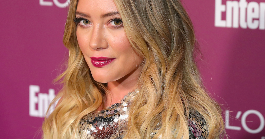 Hilary Duff Told Her Son She -2368