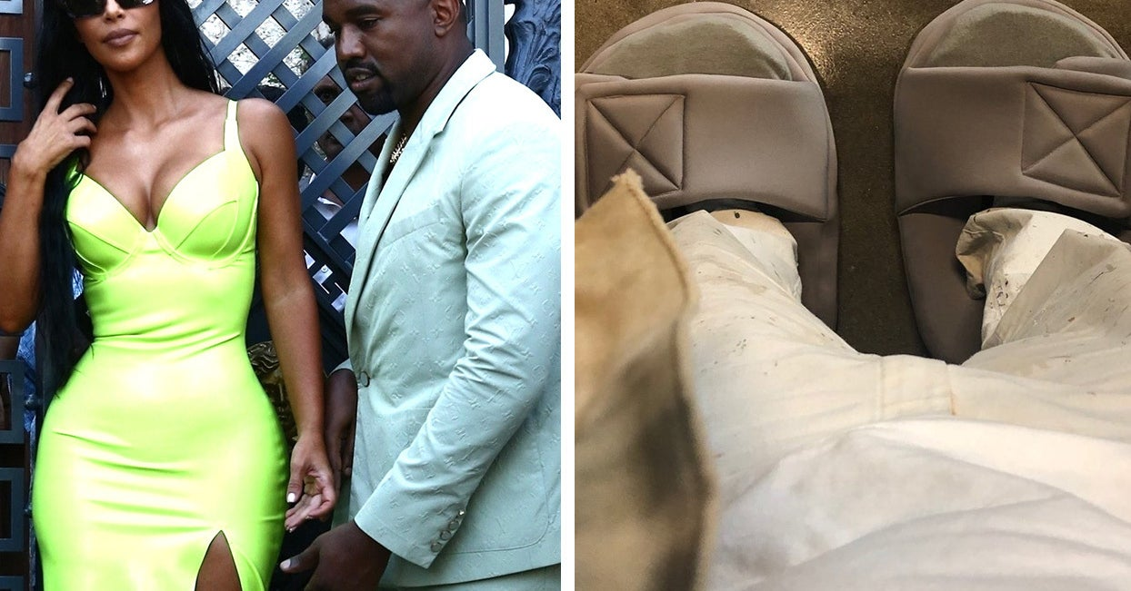 1da944d5a Kanye Responded To Everybody Trolling Him Over Those Slippers By  Hilariously Trolling Us All Back