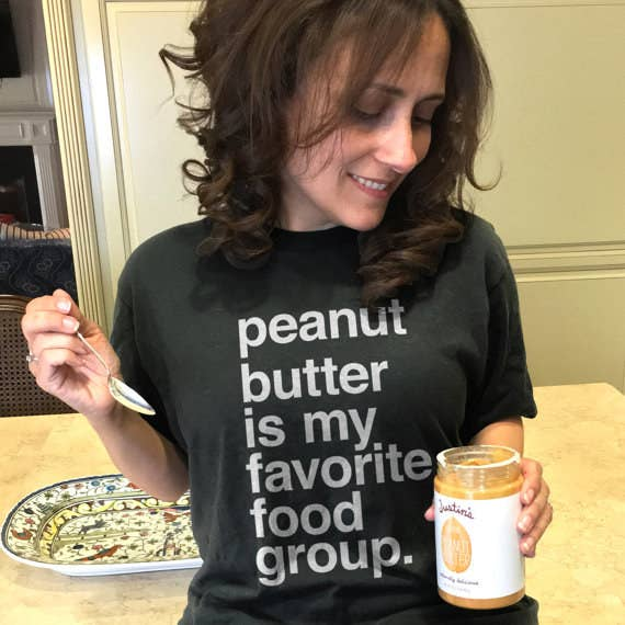 77629204 A tee to share a simple fact about yourself with others in the most  efficient way possible. Anyone who dares to tell you that peanut butter isn' t a food ...