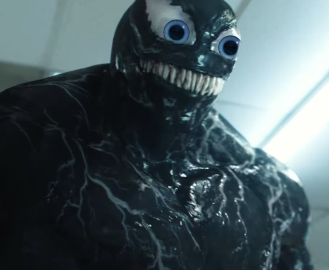 You Will Never Be Able To Unsee Venom With Eyes
