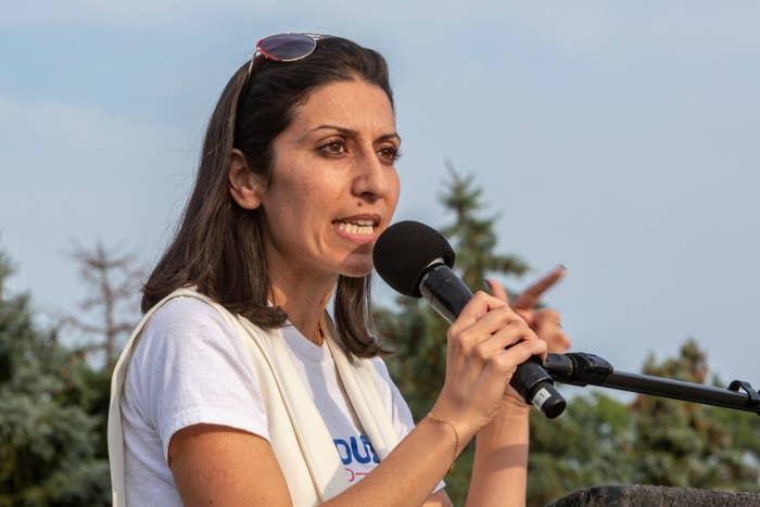 Michigan congressional candidate Fayrouz Saad.