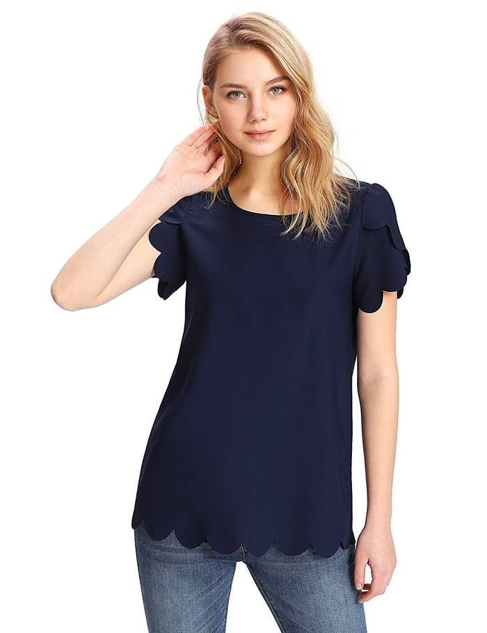 7c0202d24d 46 Gorgeous Tops To Throw On With A Pair Of Jeans