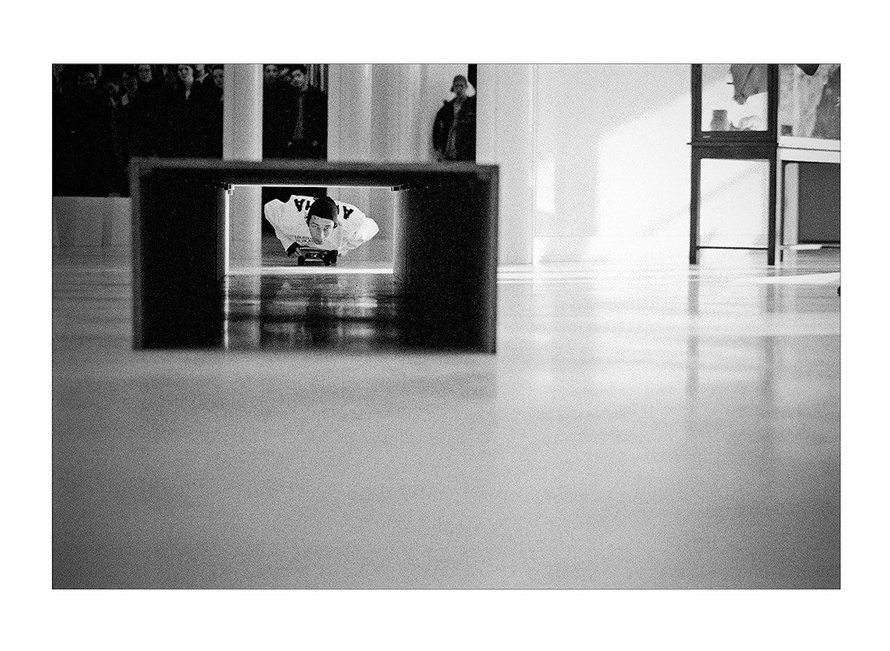 "Skin Phillips; ""Aloha, Mark Gonzales, 1998. Stadtisches Museum, Koln, Germany."""