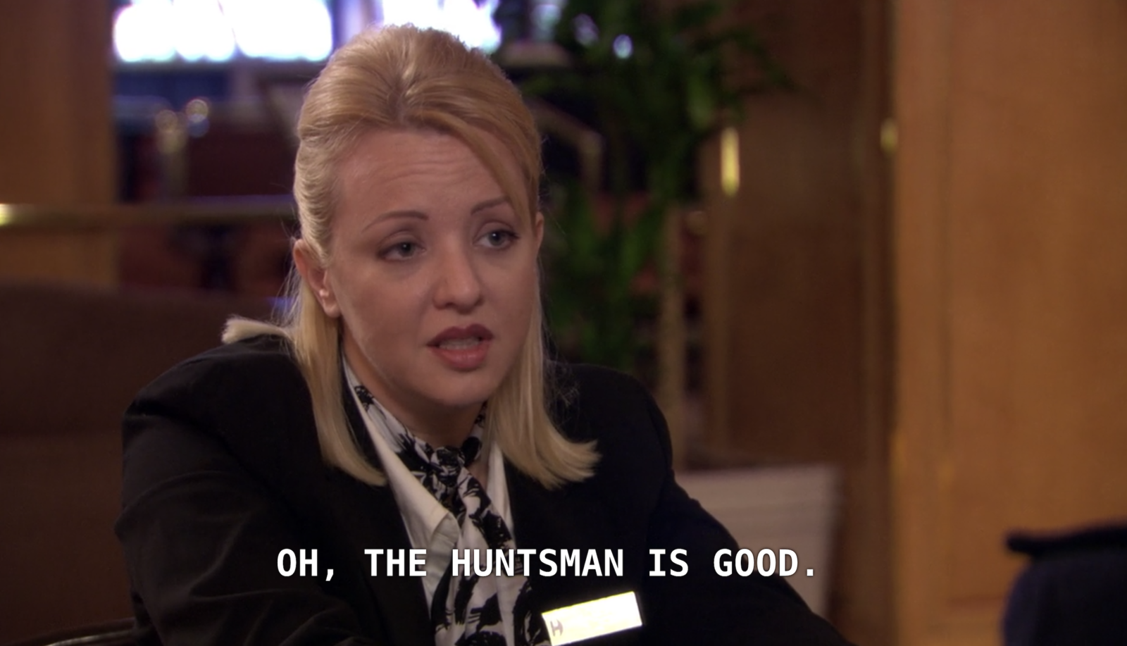 """Episode: Season 5, Episode 7: """"Business Trip""""Honesty time: I am a little upset that Wendi McLendon-Covey's role was so low-key. She is so GD HILARIOUS. On the other hand, Michael mistaking a concierge for an escort? Pure gold."""