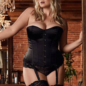 4a85ac40cc 14. Plus size retailer Hips and Curves knows how to properly show off all  your favorite features with hip-hugging and show-stopping lingerie.