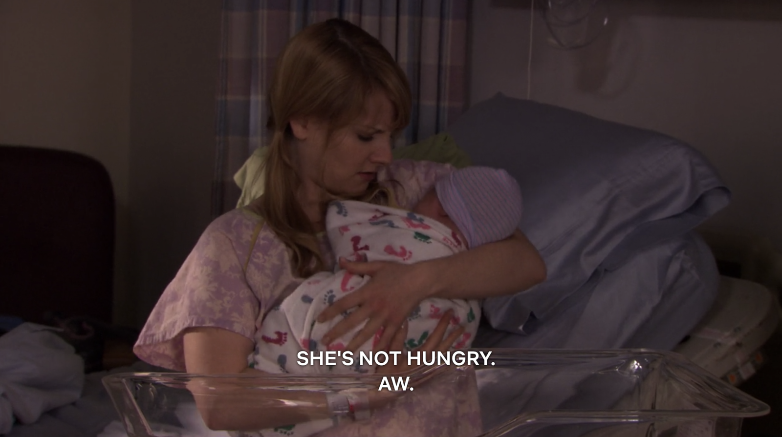 """Episode: Season 6, Episode 18: """"The Delivery: Part 2""""Okay, okay, okay... who here hasn't accidentally taken the wrong baby out of their bassinet and breast fed it, then realized you were holding the wrong child, so you secretly put the baby back without its actual mother knowing? Exactly, no one."""