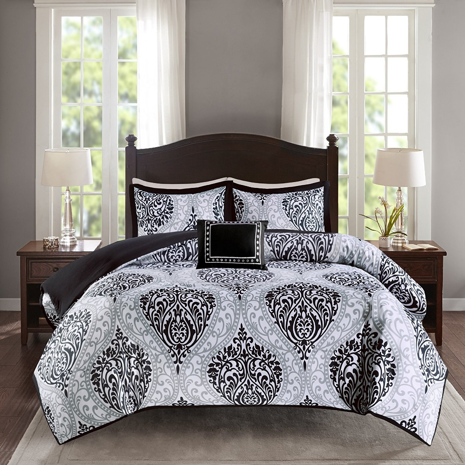 Twin Full Queen King Soft Warm Comforter Set Comfy Cute Floral Comforters Bedding Sets