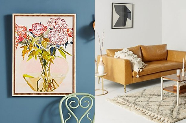 Decorate Your Living Room With Anthropologie And We Ll Guess Your
