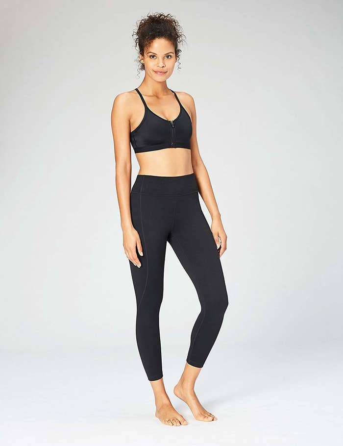 Why are they so perfect? Because you can build your leggings based on the waist style, length, and fit you love! They're also available in a wide range of sizes (XS-3XL).