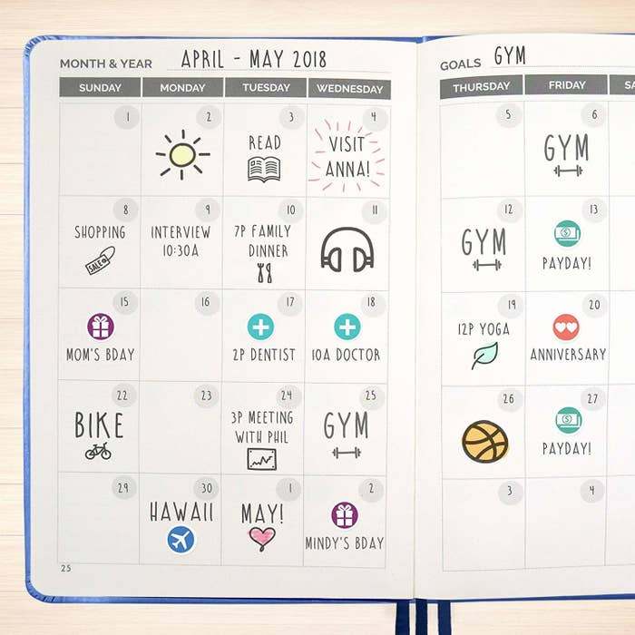 17 Of The Best Planners You Can Get On Amazon