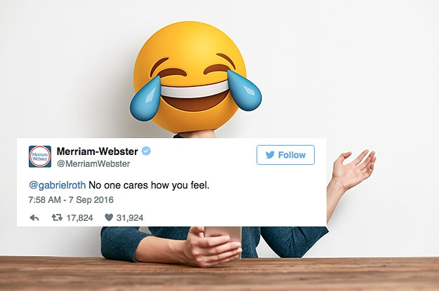 14 Times The Merriam-Webster Dictionary Was Shady AF 69fef7412