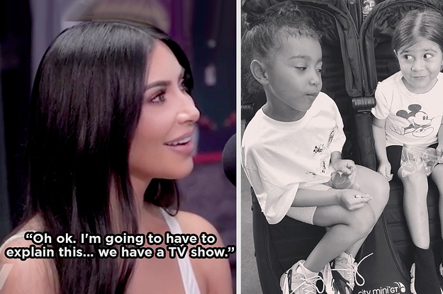 Guys, Kim Kardashian's Daughter Just Asked Her How She Got Famous