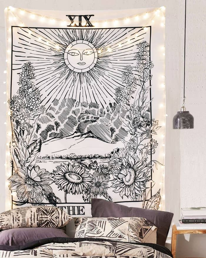1 A Tarot Tapestry In Three Different Cards And Sizes For Anyone Who Needs The Perfect Wall Hanging To Suit Their E