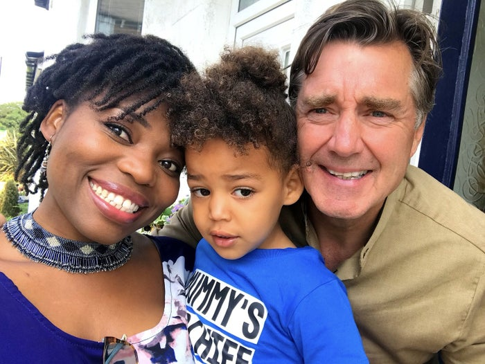 Valentina Hynes and her husband Stephen Hynes with their son Harry-Zander.