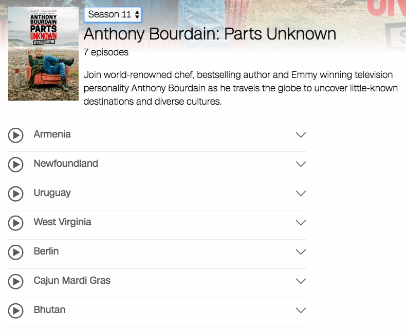 Cnn Has Pulled Episodes Of Parts Unknown Featuring Asia Argento