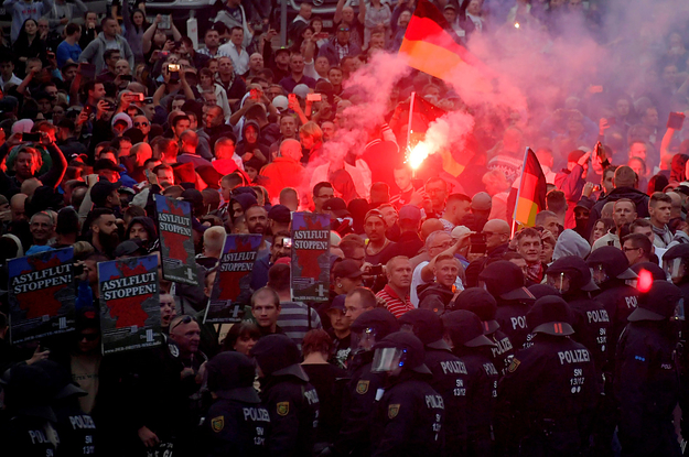 The Real Story Behind The Anti-Immigrant Riots Rocking Germany