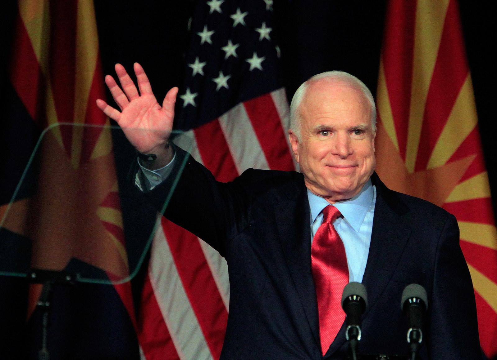 John McCain Was Farewelled At An Emotional Funeral At Washington National Cathedral