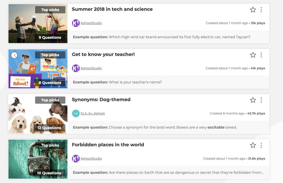 Students Are Using Bots To Crash Games Of Kahoot At School