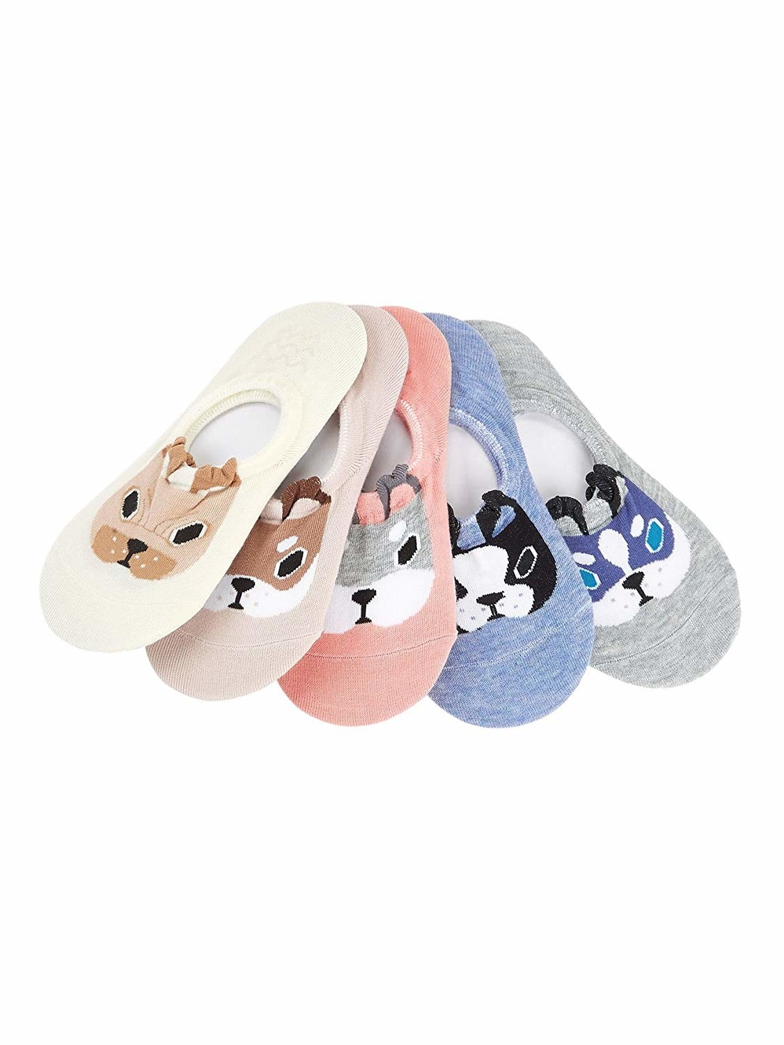 21b89b67ff1c 13. Low-rise ankle socks with puppers (and their 3D ears!) on top for the  low-key dose of cute you need on the daily.