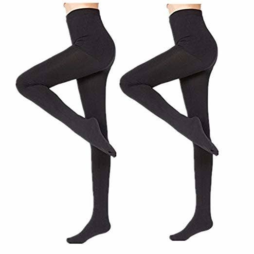850ebb9709d Fleece-lined thermal tights to avoid knocking knees and having to wear leg  prisons all winter.