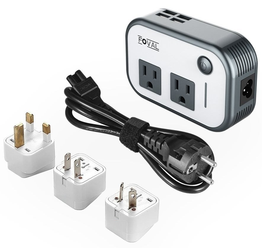 the travel adapter