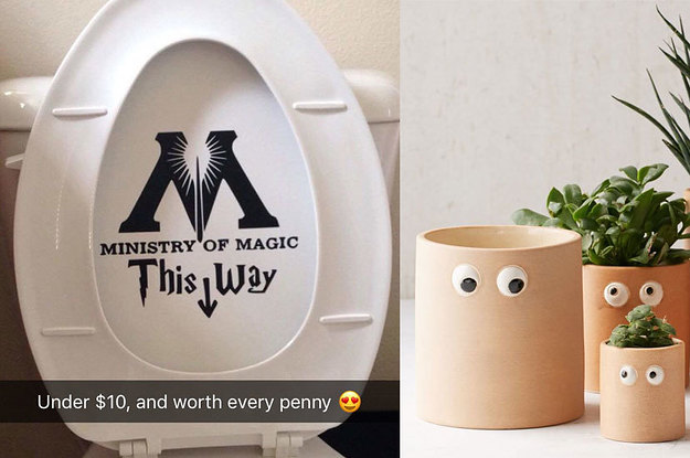 23 Incredibly Awesome Pieces Of Home Decor For Under 10