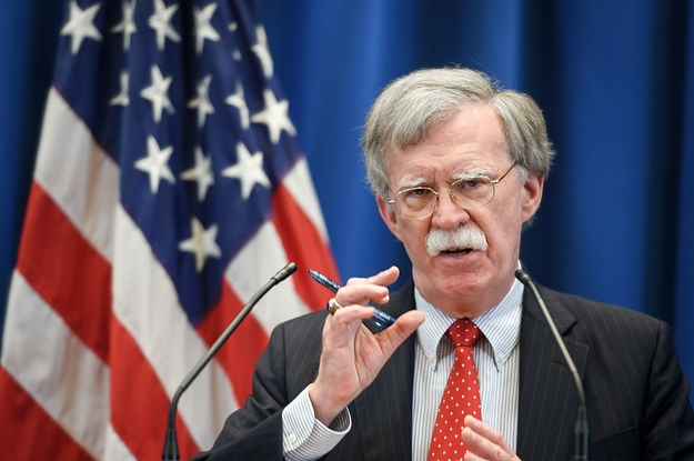 "John Bolton Took Aim At The International Criminal Court, Declaring It ""Dead To Us"""