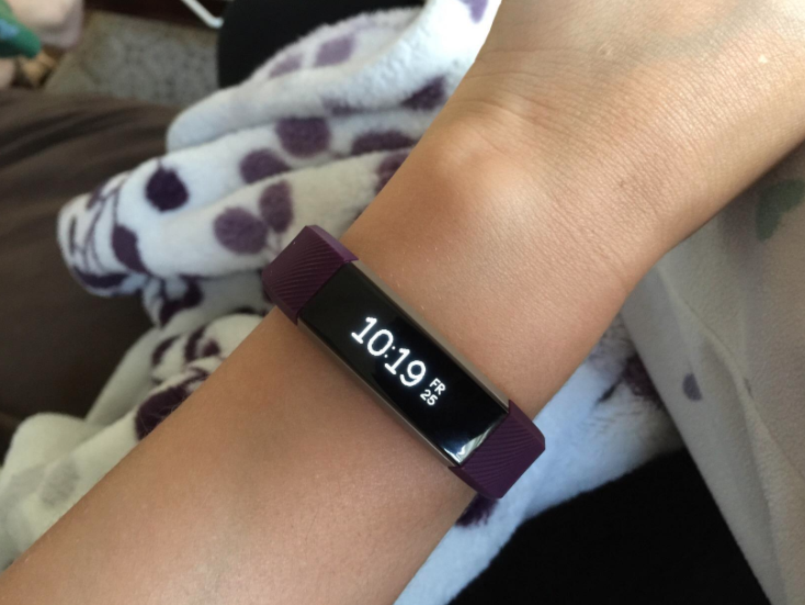 """""""Honestly, my FitBit Alta! It's a constant reminder to get off my butt!""""—betherick85Like they said, besides counting your steps, distance walked/run, calories burned, and active time, it reminds you every hour or so to stand up and walk around, because every little bit counts. Get one on Amazon for $79.95 (available in sizes small-XL in one color, and small-L in two colors) or from FitBit for $79.95+ (three colors available in three sizes)."""