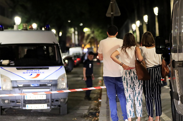 A Man Wounded At Least 7 People In A Knife Attack In Paris